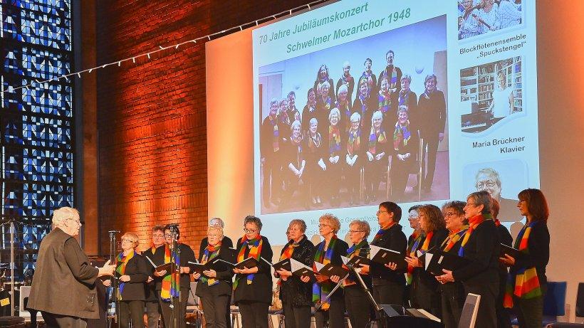 Konzert: Mozartchor feiert 70. Geburtstag