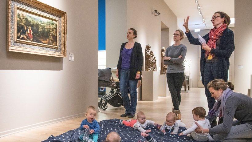 der kunstpalast in d sseldorf bietet kultur mit baby an wochenende. Black Bedroom Furniture Sets. Home Design Ideas