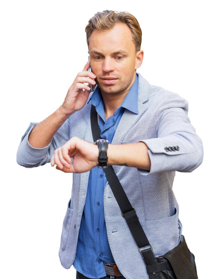 """""""Sorry, ich komm ein bisschen später, okay?"""" Tatsächlich organisieren wir unser Leben zunehmend nicht mehr mit der Uhr, sondern mit dem Mobiltelefon."""