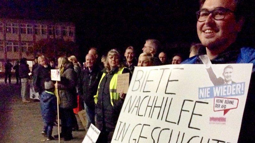 AfD-Kreisparteitag in Neheim abgebrochen - WR News