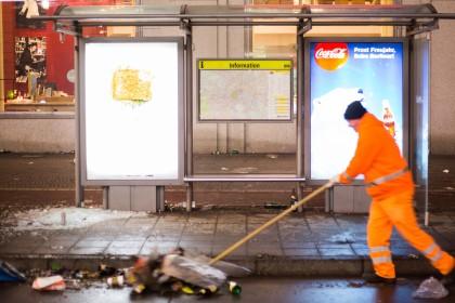 Mehr Polizei an Silvester – besonders in Düsseldorf und Köln