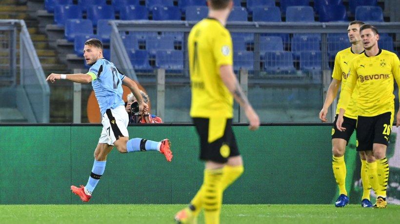 Live! Rom-Stürmer Immobile trifft gegen seinen Ex-Klub BVB