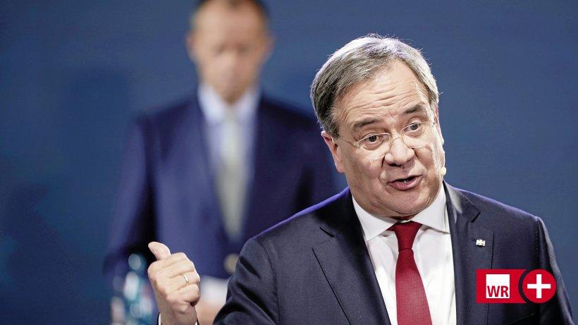 Von Wahl als CDU-Chef abgeraten: Laschet soll in NRW bleiben