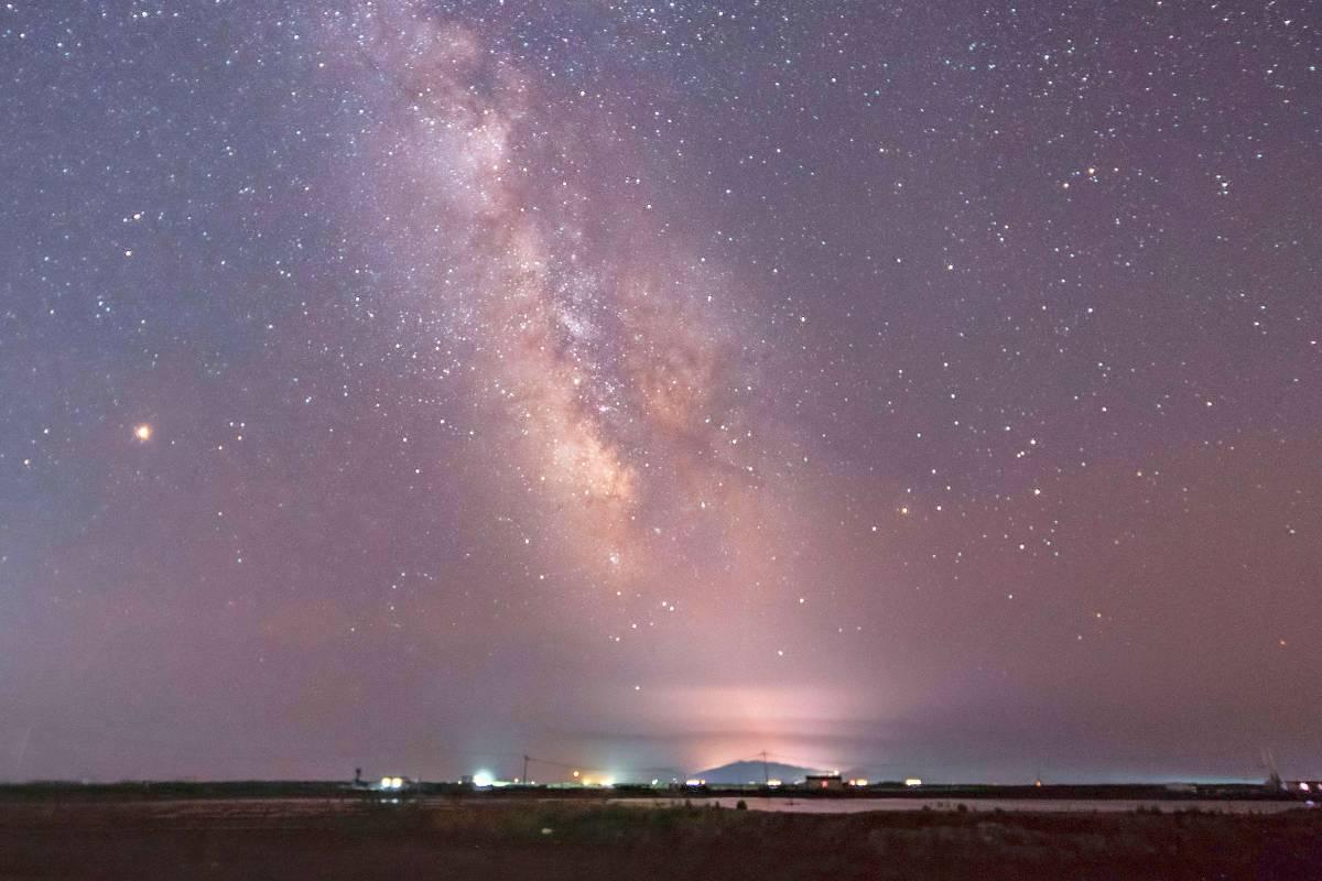 Die Milchstrasse Wandert Am Septemberhimmel Nach Norden Wr De Leben