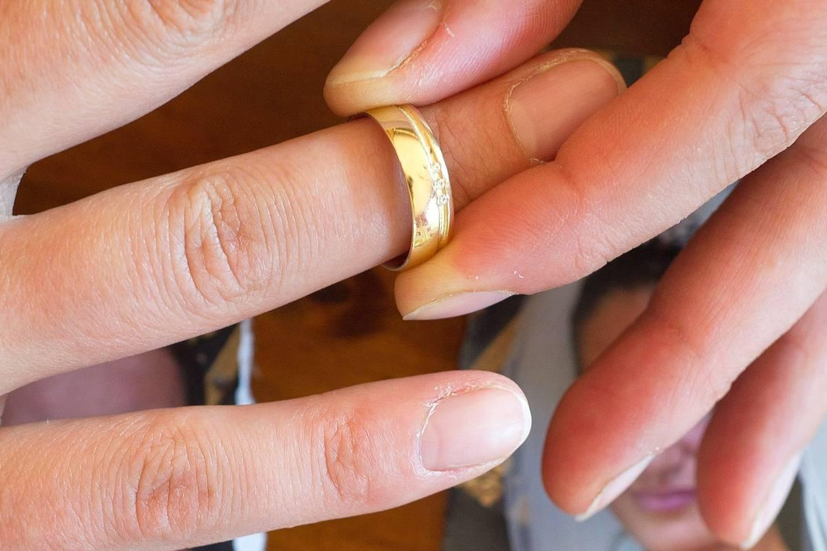 Wieder geschieden und datiert