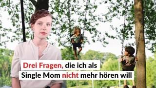 Eine junge Single-Mama