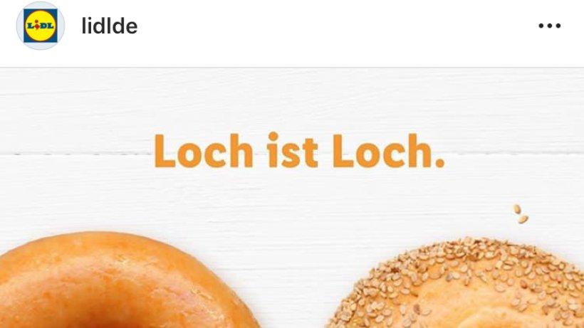 Lidl Werbung Loch Ist Loch