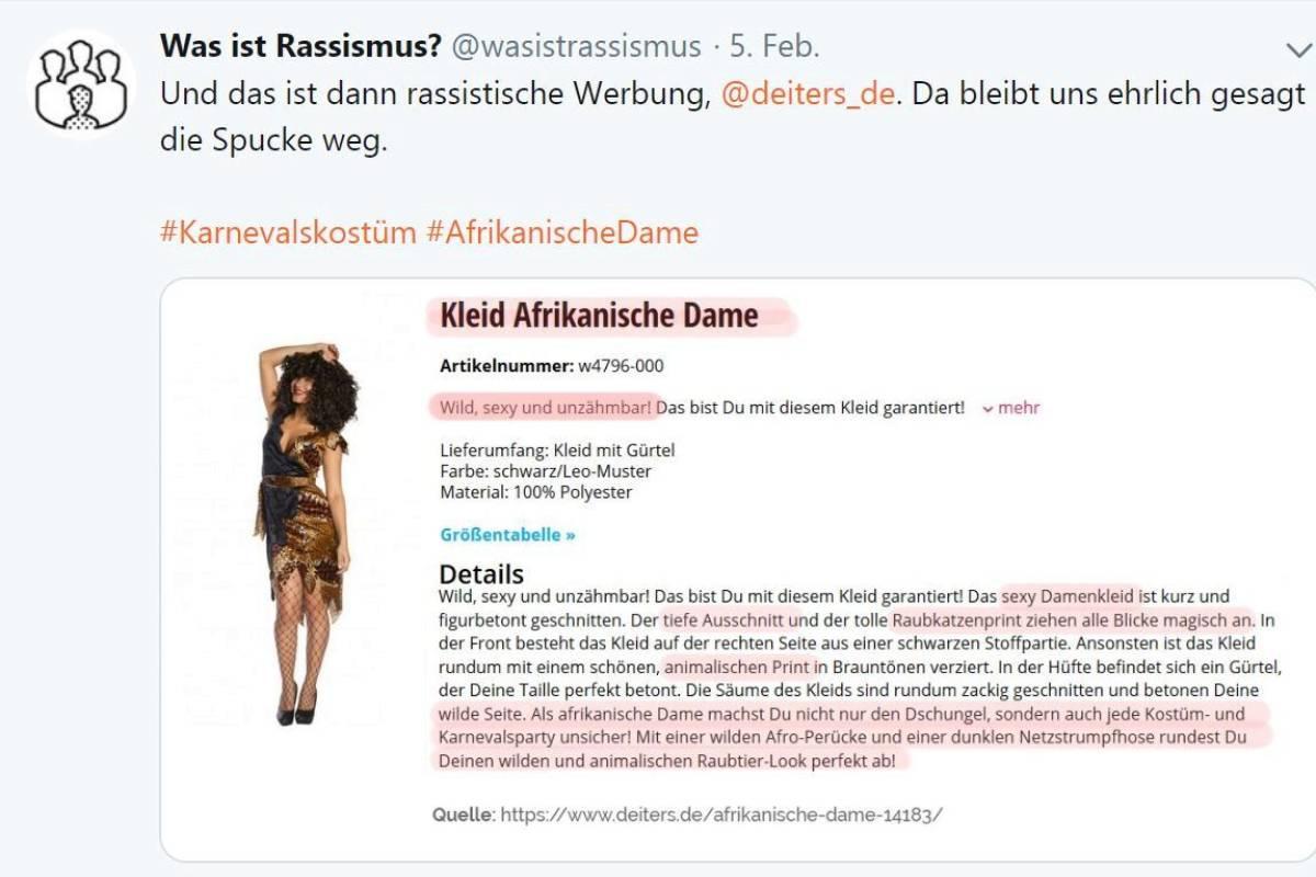 Deutsche Afrikanische Datierung
