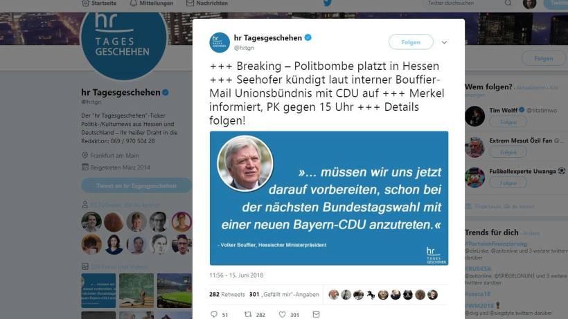 Satiremeldung Sorgt Für Wirbel U2013 So Verteidigt Sich Twitter   Wr.de    Politik