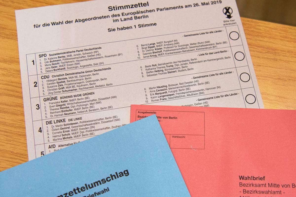 wahlschein europawahl 2019 muster