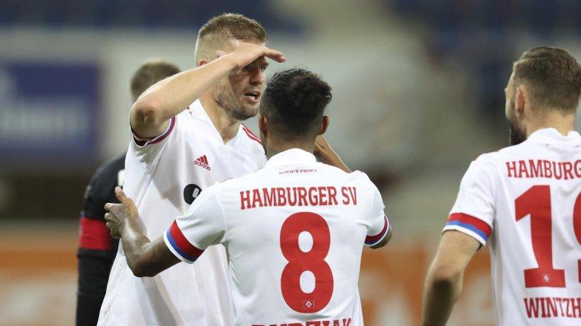 Dank Terodde: HSV gewinnt Tor-Spektakel beim SC Paderborn