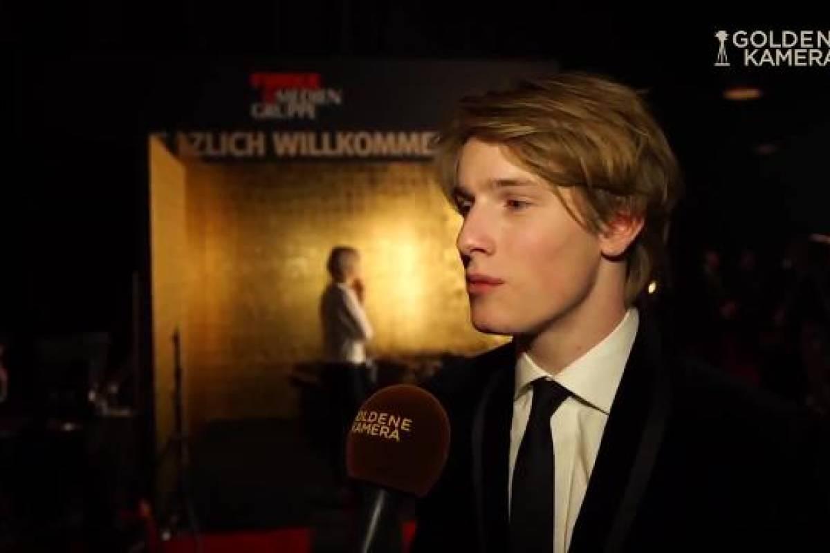 Goldene Kamera 2018 Preisträger Nachwuchs Louis Hofmann Wrde