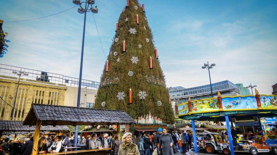 Dortmunder Weihnachtsmarkt Stände.Händler Zufrieden Mit Dortmunder Weihnachtsmarkt Wr De Dortmund
